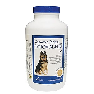 Synovial-Flex Joint Care for Dogs, 120 Chewable Tablets