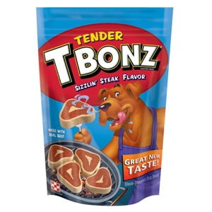 T Bonz Filet Mignon Flavor Dog Treats, 10 oz - 10 Pack