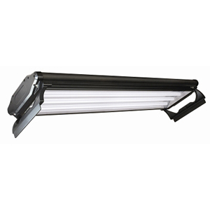 T5 HO 4 Lamp Fluorescent Light Fixture, 24""