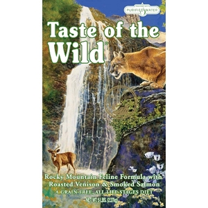 Taste of the Wild Rocky Mountain Feline Formula, 5 lb - 6 Pack