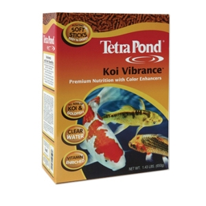 Tetrapond koi vibrance fish food 16 5 lb for Best food for koi fish
