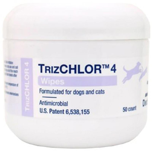 TrizCHLOR 4 Wipes, 50 Count