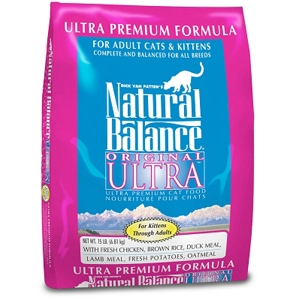 Ultra Premium Formula Cat Food, 15 lb