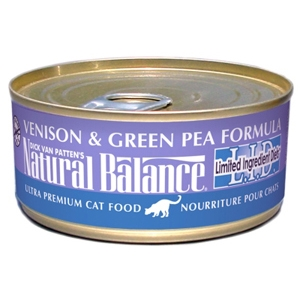 Venison & Green Pea Formula Cat Food, 6 oz - 24 Pack