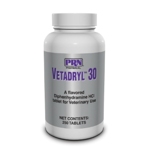 Vetadryl 30 mg, 250 Chewable Tablets | VetDepot.com