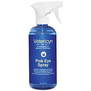 Vetericyn Pink Eye Spray, 16 oz