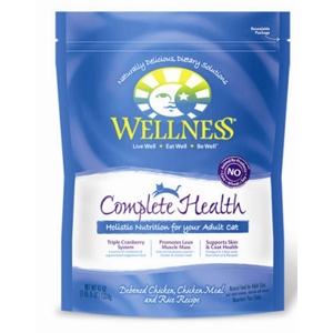 Wellness Complete Health Cat Food Chicken & Rice, 47 oz - 6 Pack
