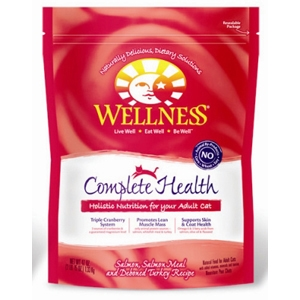 Wellness Complete Health Cat Food Salmon & Turkey, 47 oz - 6 Pack