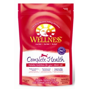 Wellness Complete Health Cat Food Salmon & Turkey, 5.8 lb - 4 Pack