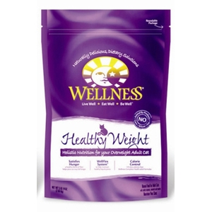 Wellness Complete Health Healthy Weight Cat Food, 5 lb - 4 Pack