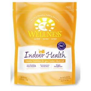 Wellness Complete Health Indoor Health Cat Food, 40 oz - 6 Pack