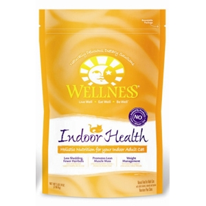Wellness Complete Health Indoor Health Cat Food, 5 lb - 4 Pack