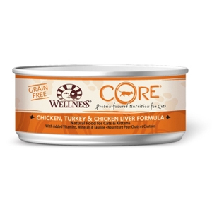 Wellness Core Cat Food Chicken, Turkey & Liver, 5.5 oz - 24 Pack
