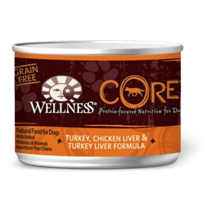 Wellness Core Dog Food Turkey & Liver, 6 oz - 24 Pack