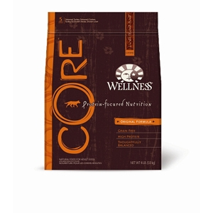Wellness Core Original Recipe Dog Food, 4 lb - 6 Pack