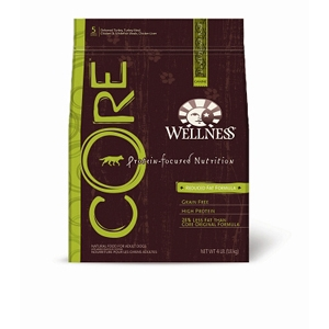 Wellness Core Reduced Fat Recipe Dog Food, 4 lb - 6 Pack