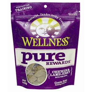 Wellness Pure Rewards Chicken & Lamb Jerky, 6 oz - 8 Pack