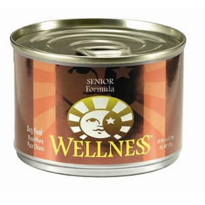 Wellness Senior Dog Food, 6 oz - 24 Pack