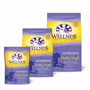 Wellness Super5Mix Healthy Weight Dog Food, 26 lb