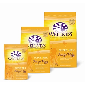 Wellness Super5Mix Just for Puppy Food, 6 lb - 6 Pack