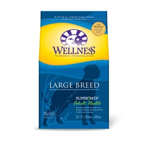 Wellness Super5Mix Large Breed Dog Food, 15 lb