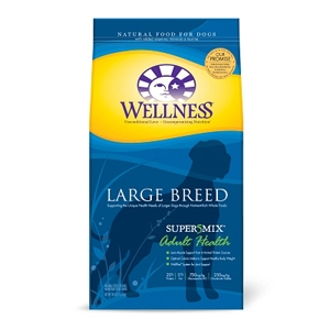 Wellness Super5Mix Large Breed Dog Food, 30 lb