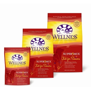 Wellness Super5Mix Senior Dog Food, 6 lb - 6 Pack