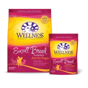 Wellness Super5Mix Small Breed Puppy Food, 4 lb - 6 Pack