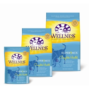 Wellness Super5Mix Whitefish & Sweet Potato Dog Food, 6 lb - 6 Pack