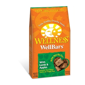 Wellness WellBars Lamb & Apple Dog Treats, 20 oz - 6 Pack