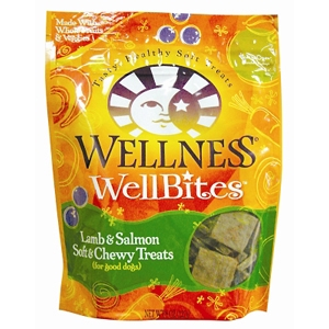 Wellness WellBites Lamb & Salmon Dog Treats, 8 oz - 8 Pack