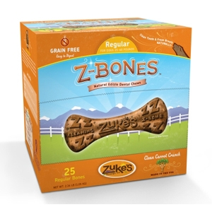 Z-Bone Dental Treats Clean Carrot Crunch Regular, 25 ct