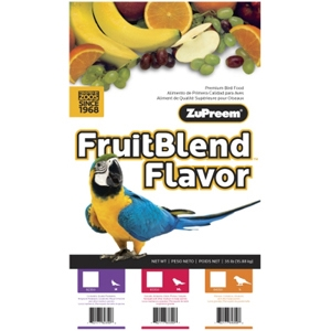 ZuPreem FruitBlend Bird Food for Large Birds, 35 lb