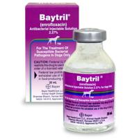 Baytril Injectable, 20 mL (enrofloxacin)