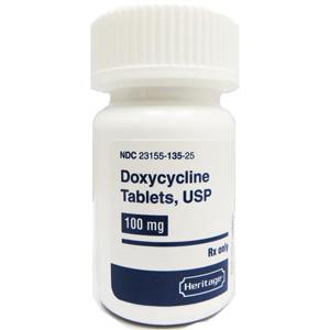 Doxycycline 100 Mg 500 Tablets Vetdepot Com