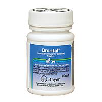 Drontal Feline 1 Tablets for Cats Wormer Medication