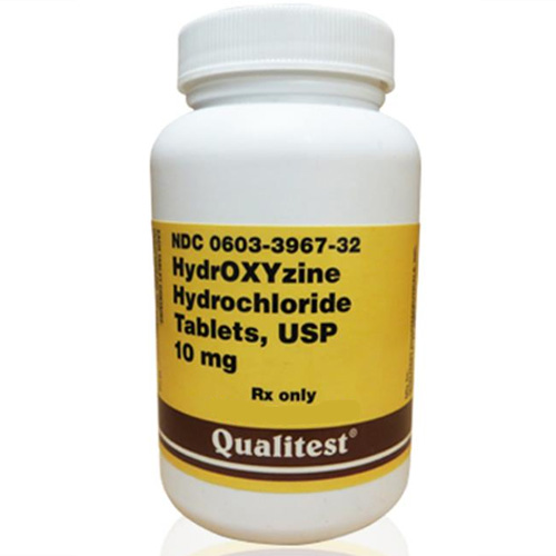 Hydroxyzine HCL 10 Mg, 1 Tablets