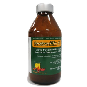 Penicillin G Procaine 250 Ml Vetdepot Com