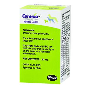 Cerenia Injection 10 mg/mL, 20 mL | VetDepot com