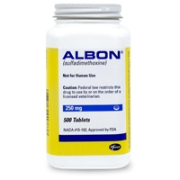 Albon Tabs 250 mg, Single Tablet