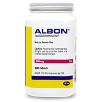 Albon Tabs 500 mg, Single Tablet