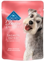 Blue Buffalo Divine Delights Wet Small Breed Dog Food, Salmon Entr?e, 3 oz, 12 Pack