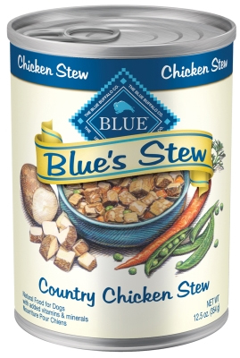 Blue Buffalo Wet Dog Food Blues Stew, Country Chicken Stew, 12.5 oz, 12 Pack