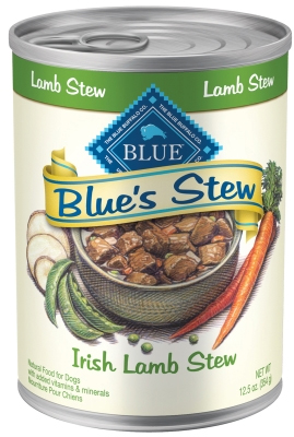 Blue Buffalo Wet Dog Food Blues Stew, Irish Lamb Stew, 12.5 oz, 12 Pack