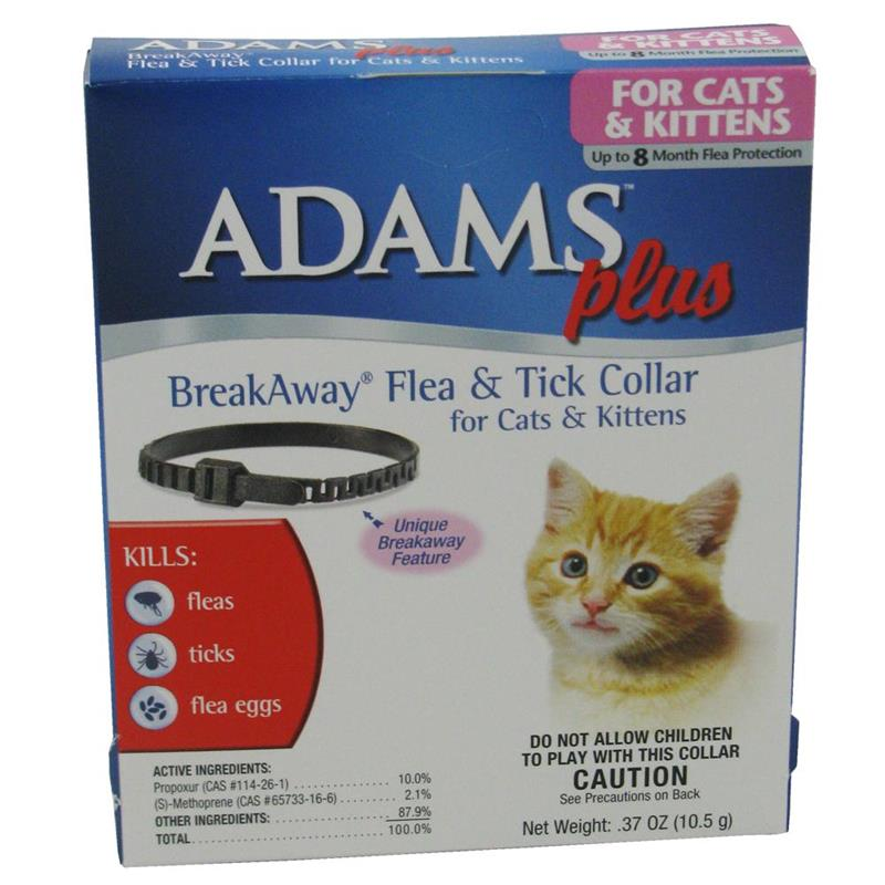 Flea and Tick Collar for Cats - Breakaway PLUS