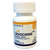 Levocrine Chewable Tablets, 0.7 mg, 180 ct.
