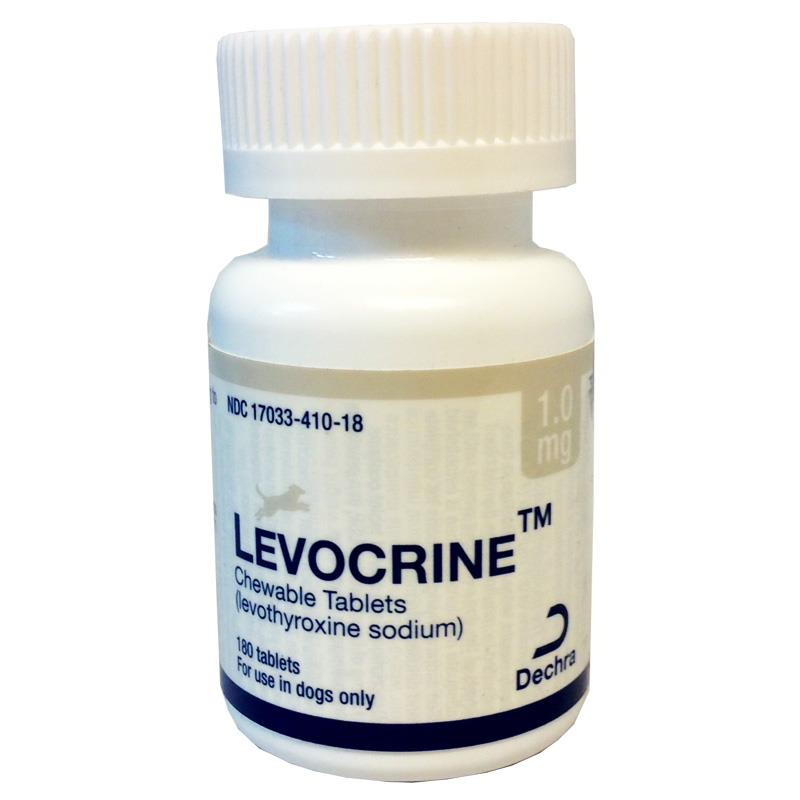 Levocrine Chewable Tablets, 1.0 mg, 180 ct.