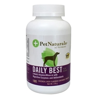 Pet Naturals Daily Best Multi-Vitamin Tablets for Dogs, 180 ct.