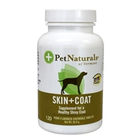 Pet Naturals Skin & Coat Support Chewable Tablets for Dogs, 120 ct.