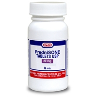 Prednisone 20 mg, 1 Tablet